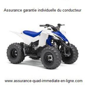 Assurance quad garantie Individuelle du conducteur