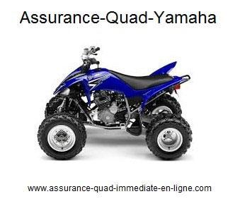 Assurance quad Yamaha