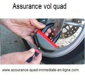 Assurance quad garantie Vol